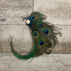 Accessories - Peacock Hairpiece